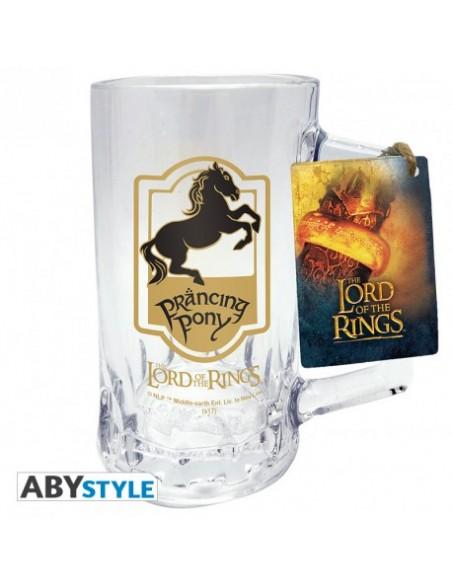Jarra cerveza Pony Pisador - El Señor de los Anillos