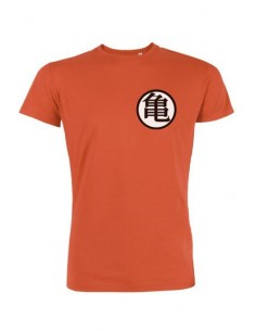 Camiseta Símbolo Kame y Kaiõ - Dragon Ball