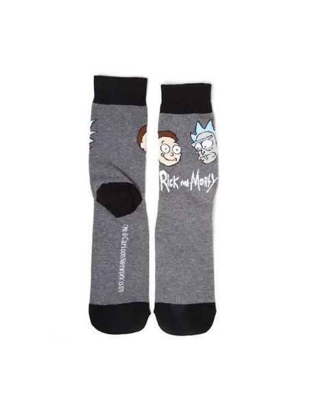 Calcetines Rick y Morty