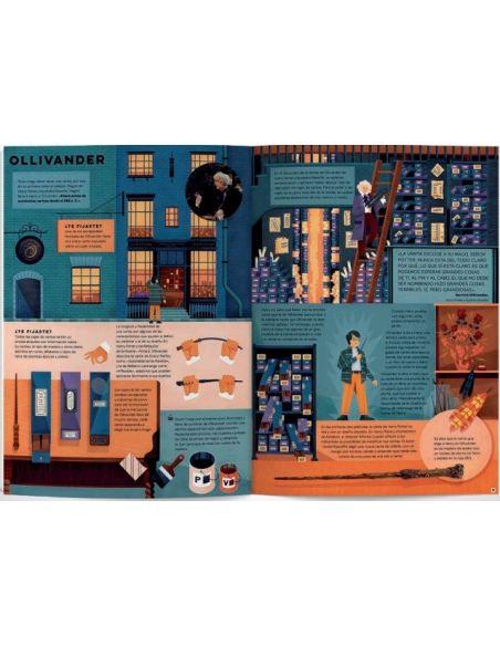 Harry Potter Explorar el Callejón Diagon: Una Guía Ilustrada
