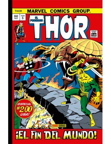 El Poderoso Thor 05. ¡El Fin Del Mundo! (Marvel Gold)
