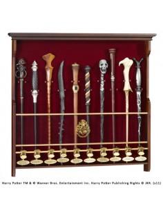 Expositor de Pared para 10 Varitas - Harry Potter