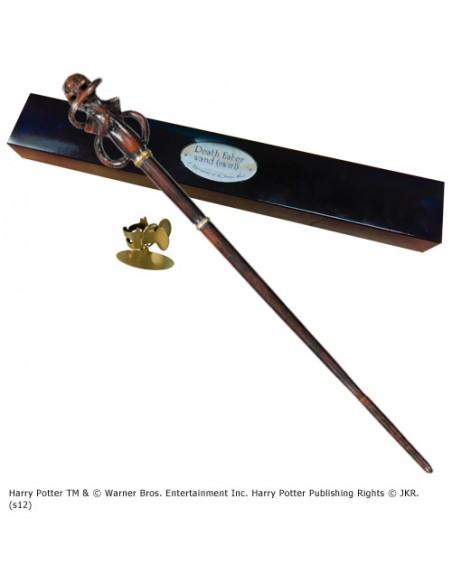 """Varita de Mortífago """"Remolino"""" - Reliquias de la Muerte - Harry Potter"""