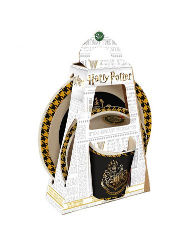 Set desayuno Hogwarts bambú - Harry Potter