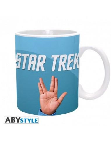 Taza Saludo Vulcano - Star Trek