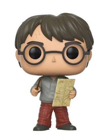 FUNKO POP! Harry Potter con Mapa del Merodeador 42 - Harry Potter