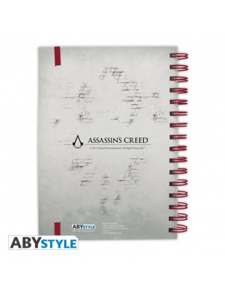 "Libreta ""Legado"" - Assassin's Creed"