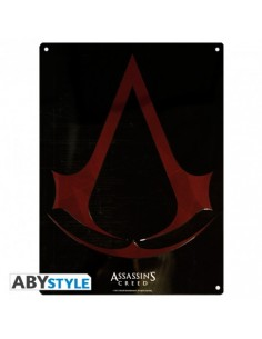Placa metálica Assassin's Creed