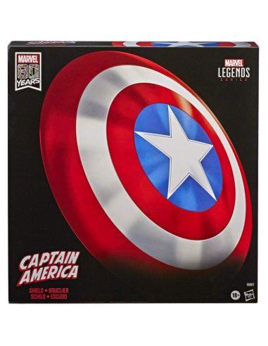 Escudo Capitán América réplica 1:1 - Marvel Legends - Marvel