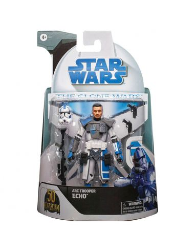 Figura Arc Trooper Echo - Clone Wars Black Series - Star Wars