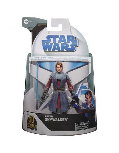 Figura Anakin Skywalker - Clone Wars Black Series - Star Wars