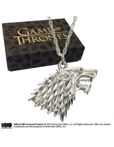 Colgante Stark en Plata - Juego de Tronos