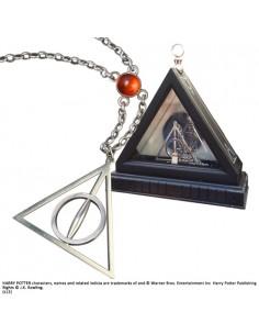 Colgante Reliquias de la Muerte con Expositor - Harry Potter