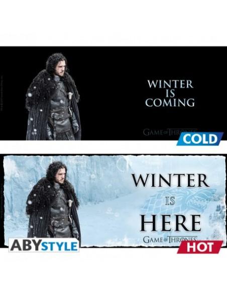Taza térmica Winter is Coming - Juego de Tronos
