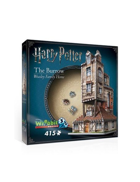 Puzzle 3D La Madriguera - Harry Potter
