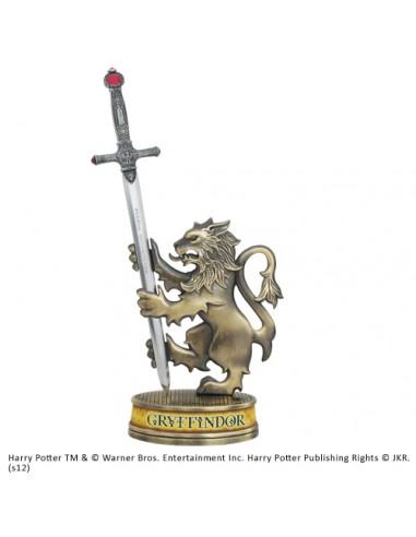 Abrecartas Espada de Godric Gryffindor con soporte - Harry Potter