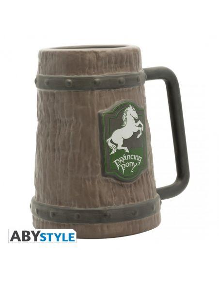 Jarra de cerveza Pony Pisador - El Señor de los Anillos