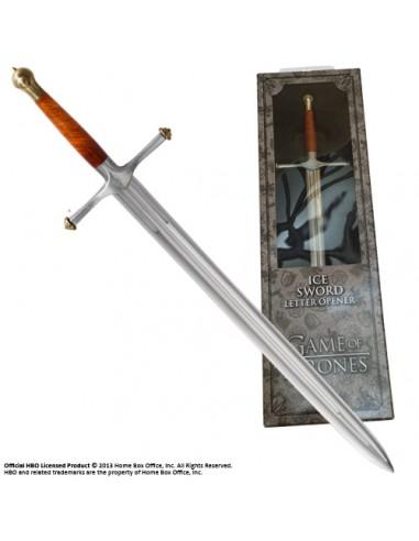 "Abrecartas Espada Eddard Stark ""Hielo"" - Juego de Tronos"