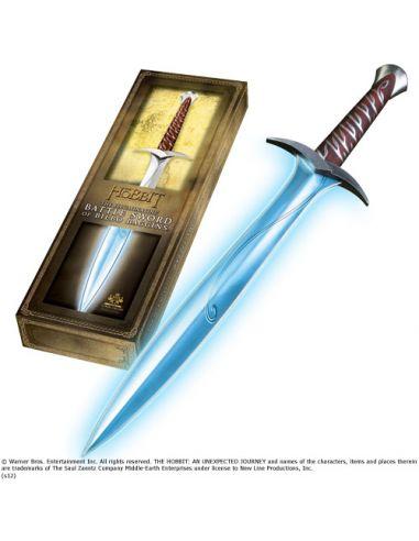 "Espada Bilbo Bolsón ""Dardo"" con Luz, escala 1:1 - El Hobbit"