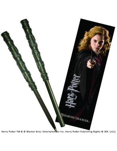 Bolígrafo y Marcapáginas Hermione Granger - Harry Potter