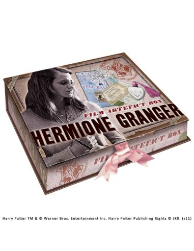 Caja de Recuerdos y Efectos Personales de Hermione Granger - Harry Potter