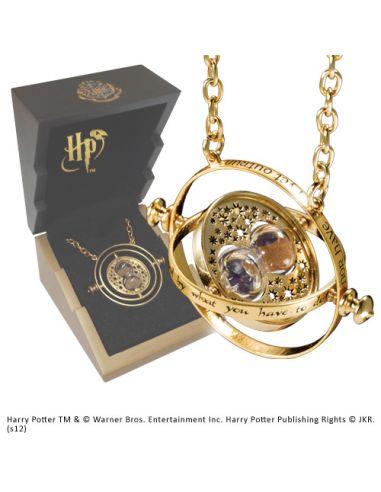 Giratiempos Hermione Granger 'Plata chapada en Oro' - Harry Potter