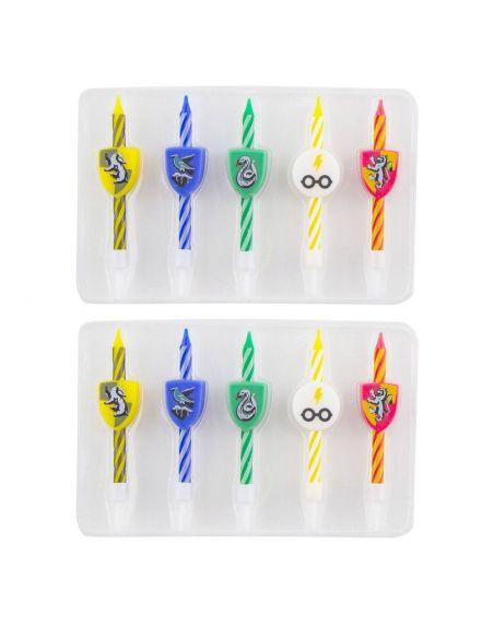 Pack 10 velas de Cumpleaños - Harry Potter