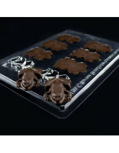 Molde Ranas de Chocolate - Harry Potter