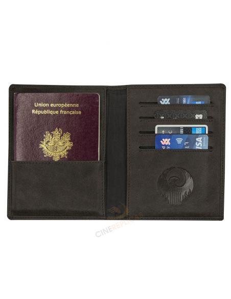 Cartera para Pasaporte escudo MACUSA - Animales Fantásticos