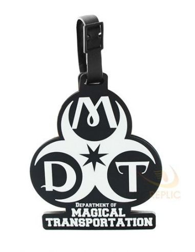 Etiqueta para equipaje Departamento Transportes Mágicos - Harry Potter