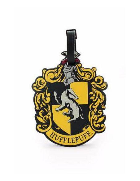 Etiqueta para equipaje Escudo Hufflepuff - Harry Potter