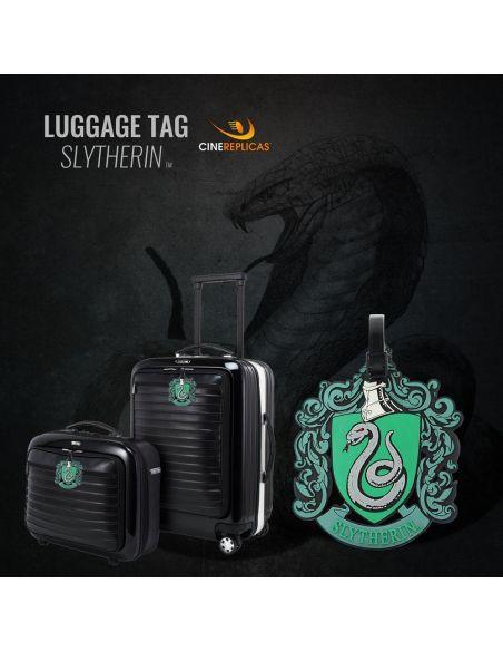 Etiqueta para equipaje Escudo Slytherin - Harry Potter