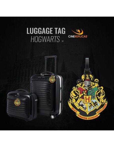 Etiqueta para equipaje Escudo Hogwarts - Harry Potter