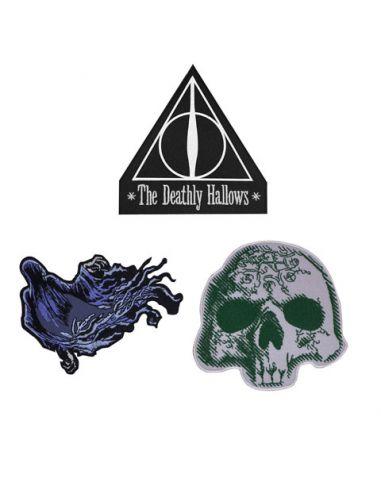 Parches Reliquias de la Muerte - Harry Potter