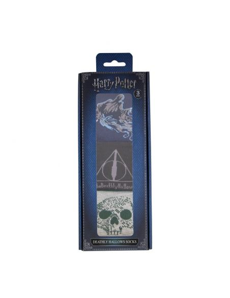 Pack Calcetines Las Reliquias de la Muerte - Harry Potter