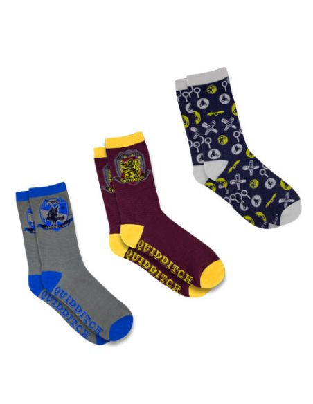 Pack Calcetines Quidditch - Harry Potter