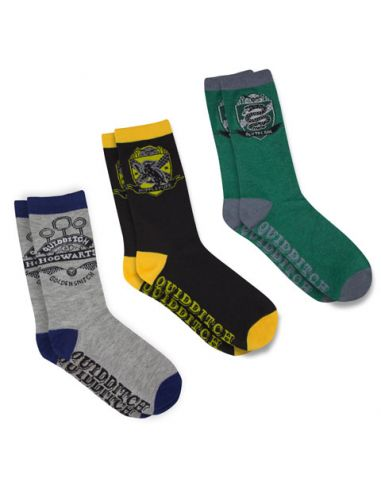 Pack Calcetines Quidditch Hogwarts - Harry Potter