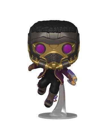 FUNKO POP! T'Challa Star-Lord 871 - Marvel