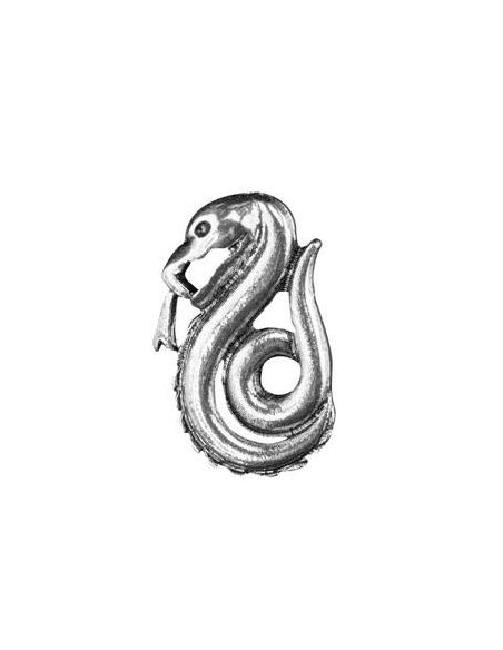Corbata Deluxe Slytherin con Pin - Harry Potter