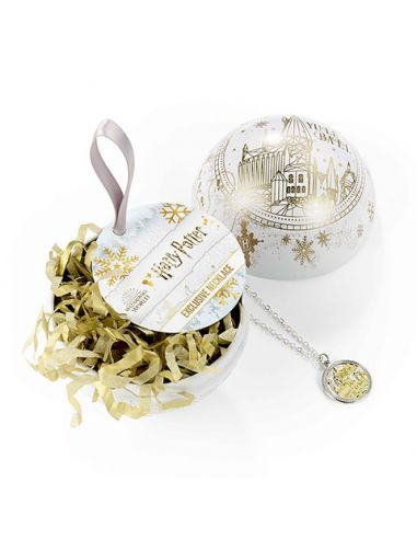 Bola de Navidad Yule Ball con Collar Hogwarts - Harry Potter