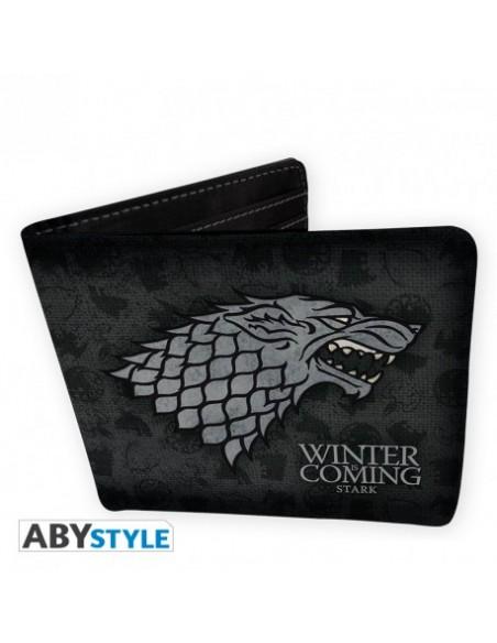 Pack cartera y llavero Casa Stark - Juego de Tronos