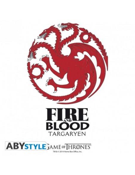 Vaso Casa Targaryen - Juego de Tronos