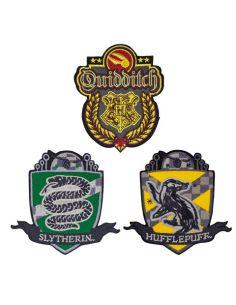 Parches Escudos Quidditch - Harry Potter