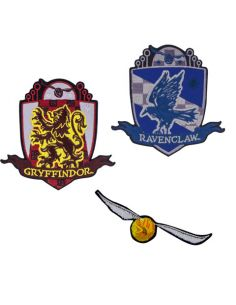 Parches Escudos Quidditch 2 - Harry Potter