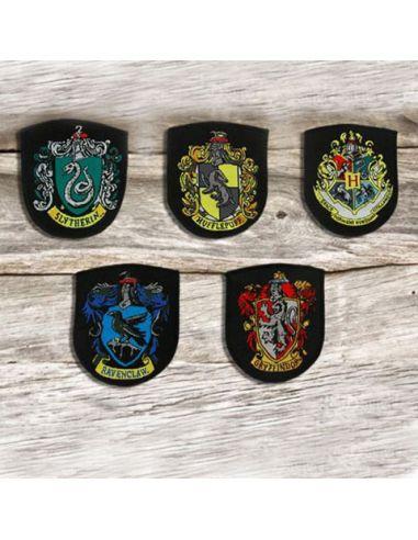 Parches Escudos Hogwarts - Harry Potter
