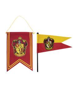 Banderín y estandarte Gryffindor - Harry Potter