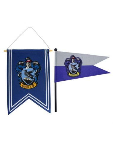 Banderín y estandarte Ravenclaw - Harry Potter