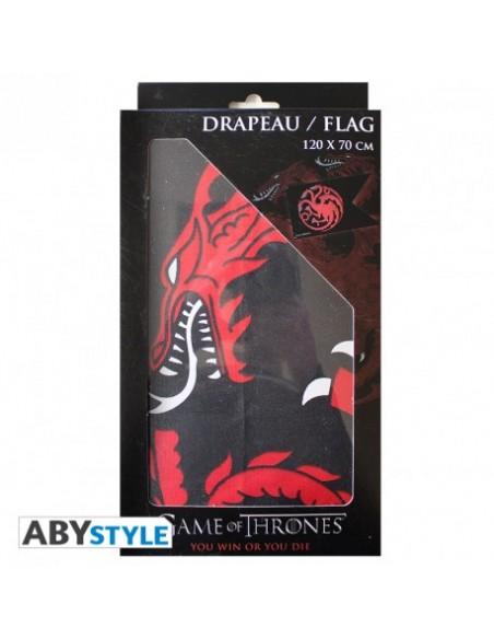 Bandera Casa Targaryen - Juego de Tronos