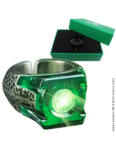 Anillo Linterna Verde con Luz - DC Comics