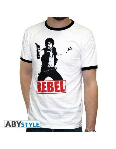 Camiseta Han Solo Rebel - Star Wars